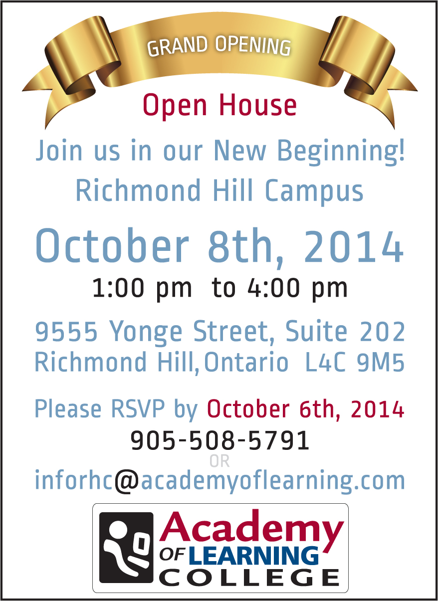 Richmond Hill Campus Grand Opening