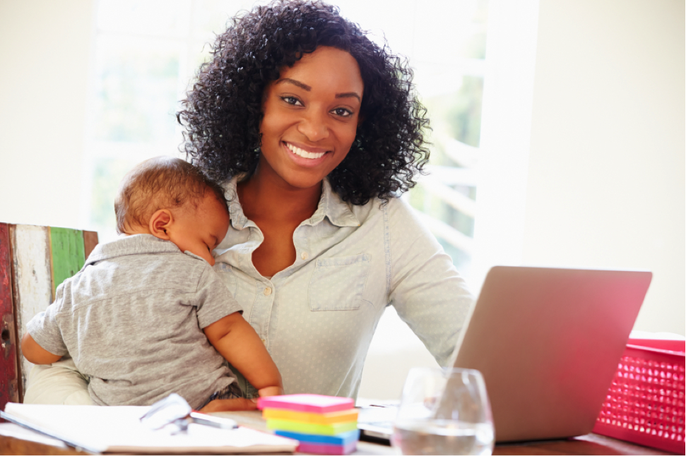 "AOLC's ""learn-at-your-own-pace"" approach is ideal for new moms hoping to re-enter the workforce"