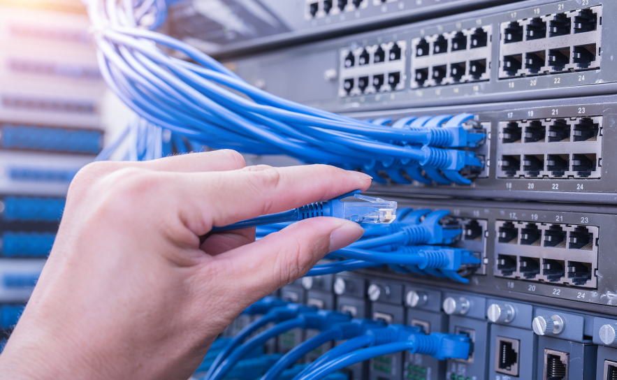 Network administrators help maintain a company's network