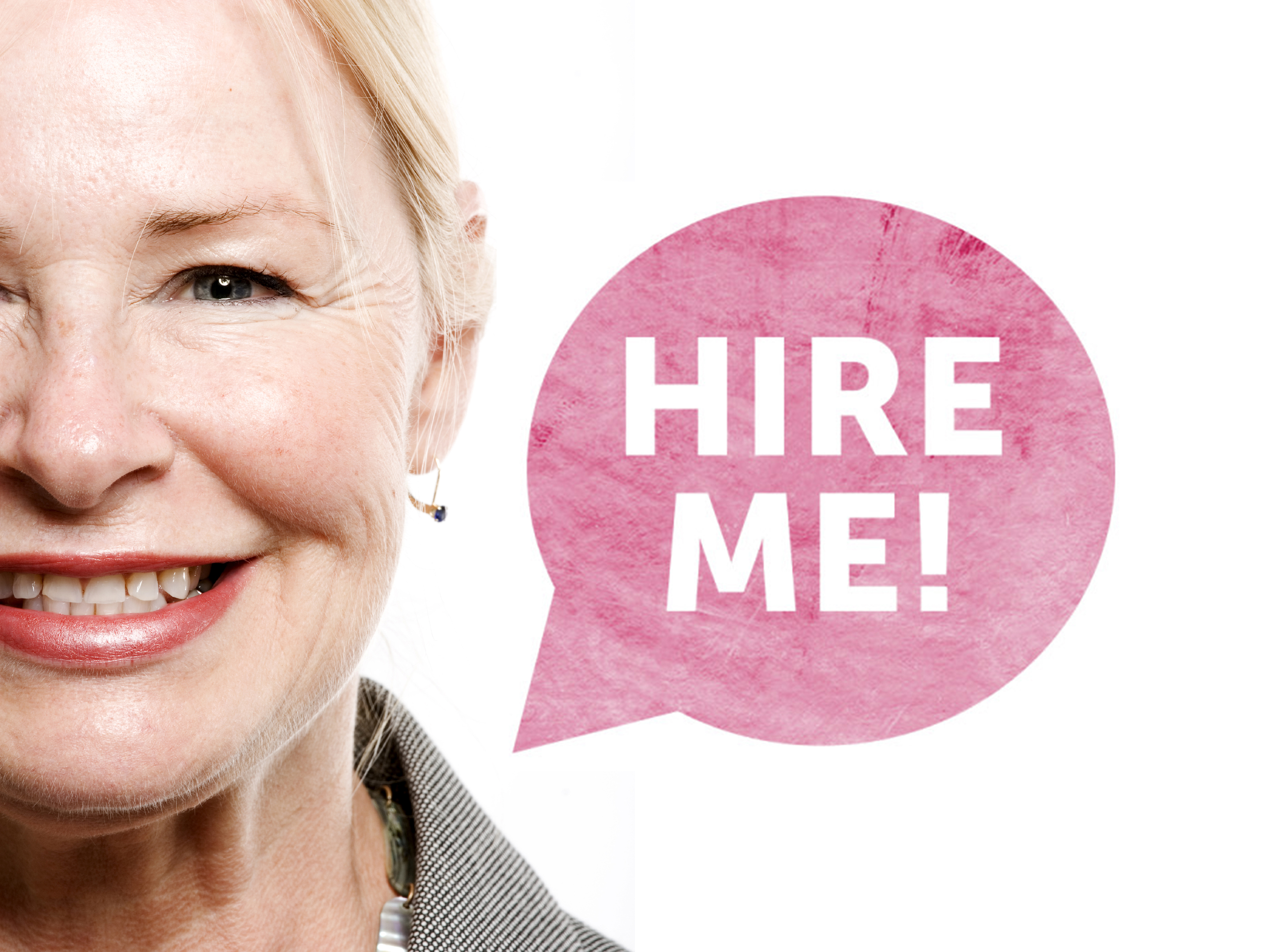 Confident older business woman